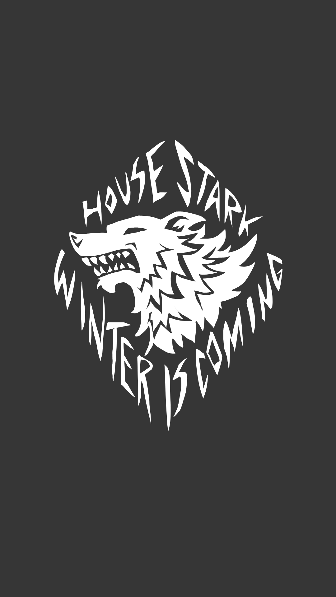 Games of Thrones: sfondi per smartphone android e apple ... House Stark Wallpaper Android